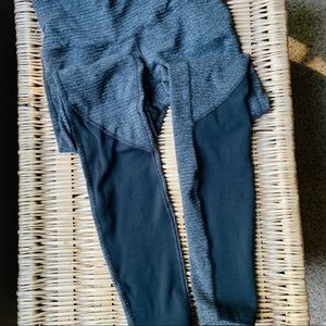 Luluemon leggings sz 4 black / grey